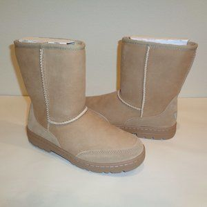 UGG ULTRA SHORT REVIVAL Sand Suede New Boots